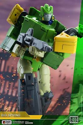 SALE* Transformers 3rd Party Masterpiece Size * Big Spring / Springer * Neu New