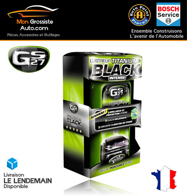 COFFRET GS27 Lustreur Titanium+ Black Intense CL160250