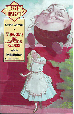 CLASSICS ILLUSTRATED #3  Feb 1990  THROUGH THE LOOKING GLASS   First Comics