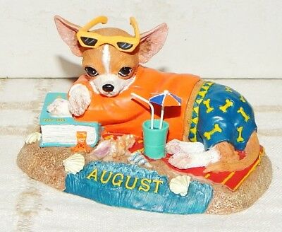 Danbury Mint Chihuahua August Christmas Ornament