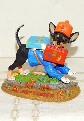 Danbury Mint Chihuahua September Christmas Ornament