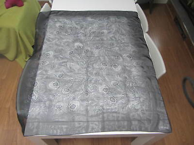 Liberty 100% Silk Grey Scarf - Immaculate