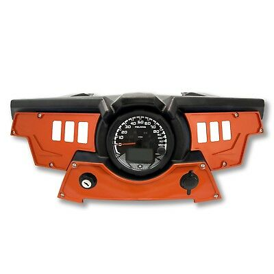 6 switch dash panel kit for Polaris RZR XP 900 S 2015-2018 Orange