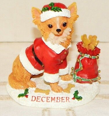 Danbury Mint Chihuahua December Christmas Ornament