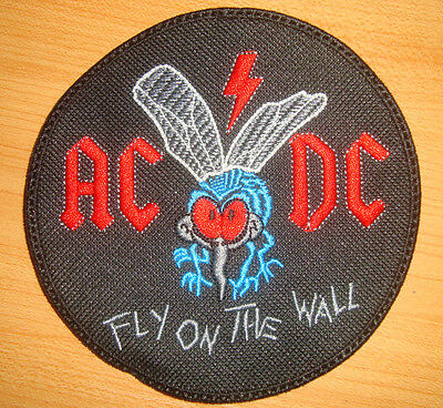 AC DC FLY ON THE WALL - LOGO Embroidered PATCH