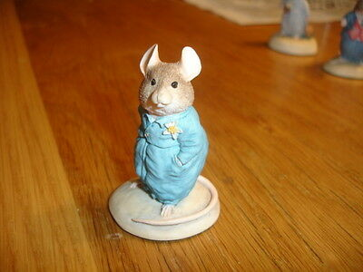 Border Fine Arts Brambly Hedge    Pageboy   Bh13    Made In Uk