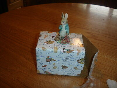 Border Fine Arts Beatrix Potter  Peter With Onion Bag   Made In Uk   Bpm31