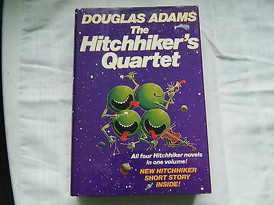 Douglas Adams The Hitchhikers Quartet First Edition 1986 Hardback