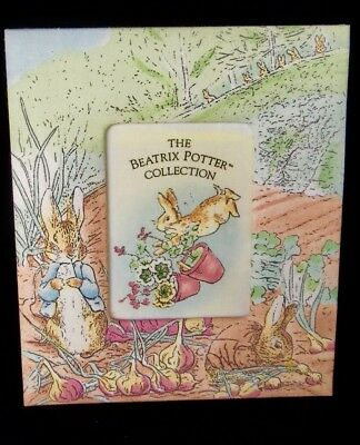 "Beatrix Potter Photo Frame Fabric 3.25"" x 4.5"" Photo Opening"