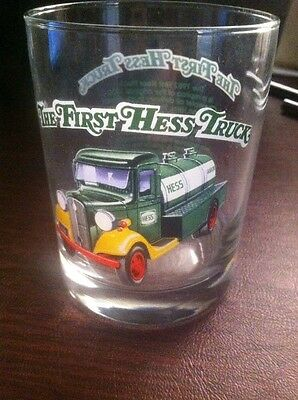 HESS 1996 Rock Glass The First Hess Truck Never Used