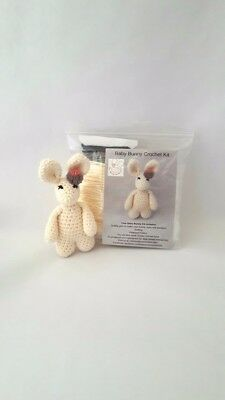 Crochet Kit - Baby Bunny Rabbit Crochet Kit - Craft Mum Birthday Gift