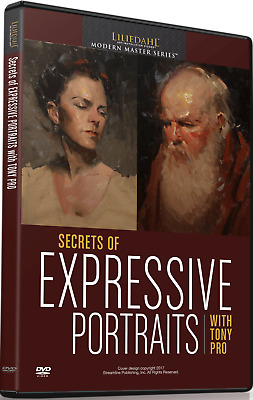 NEW Tony Pro: Secrets of Expressive Portraits - Art Instruction DVD