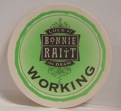 Bonnie Raitt - Original Concert Tour Cloth Backstage Pass