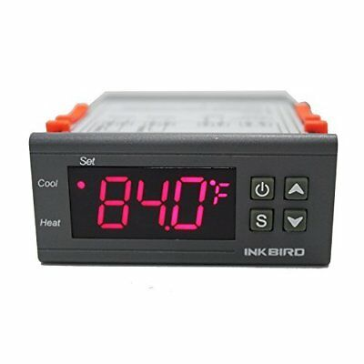 Inkbird 220V All-Purpose 2 Relays Digital Temperature Controller Thermostat +