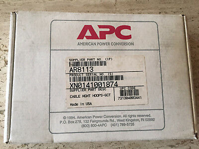 APC NetShelter AR8113 Cable Management Hoops Kit 6 count