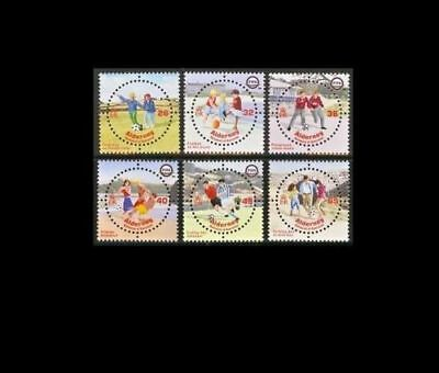 ALDERNEY A229-A234 2004 FIFA  Unmounted Mint