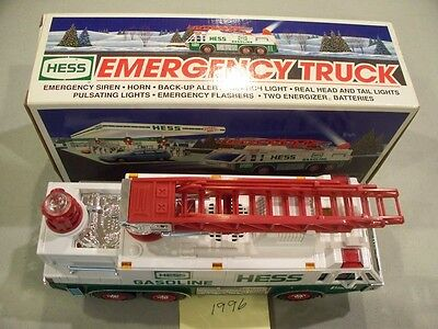 Hess Emergency Truck 1996 New In Box Free Shipping