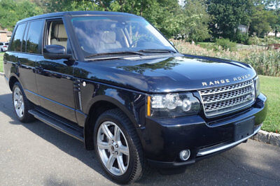 2012 Land Rover Range Rover 4WD 4dr SC No Reserve 1 owner SUPERCHARGED outstanding condition clean carfax