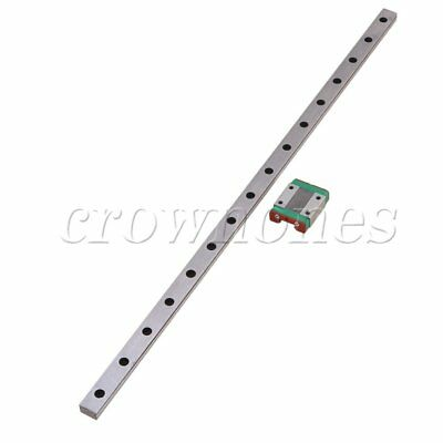 MGN12 Linear Rail Guide Slide 400mm Length With Linear Extension Block