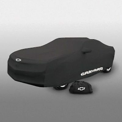 2010-2015 Chevrolet Camaro Indoor Car Dust Cover 20960814 Black w/ Camaro Logo
