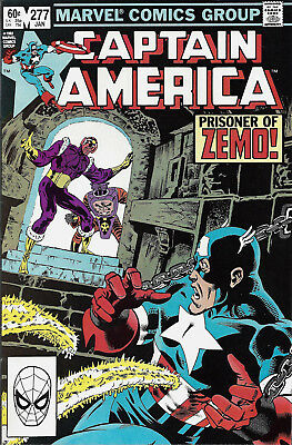 CAPTAIN AMERICA #277  Jan 1983