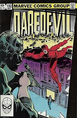 DAREDEVIL #192  Mar 1983