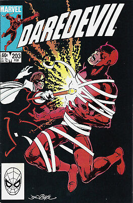 DAREDEVIL #203  Feb 1984