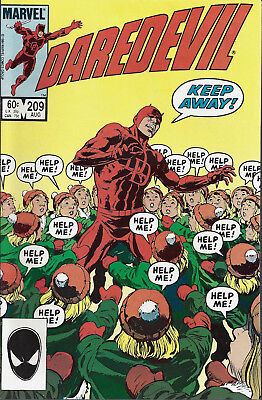 DAREDEVIL #209  Aug 1984