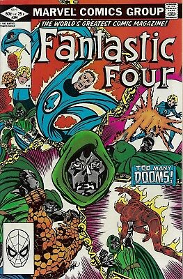 FANTASTIC FOUR #246  Sep 1982