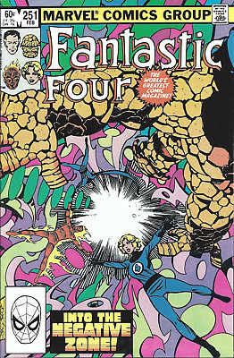 FANTASTIC FOUR #251  Feb 1983