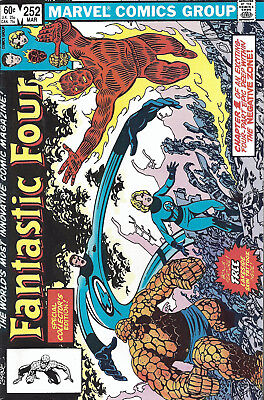 FANTASTIC FOUR #252  Mar 1983