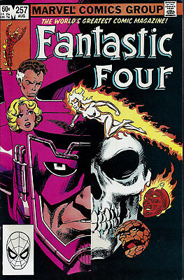 FANTASTIC FOUR #257  Aug 1983