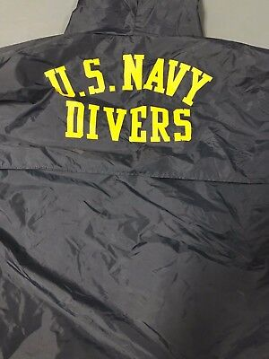 Authentic Navy Seal Divers Coat Pullover