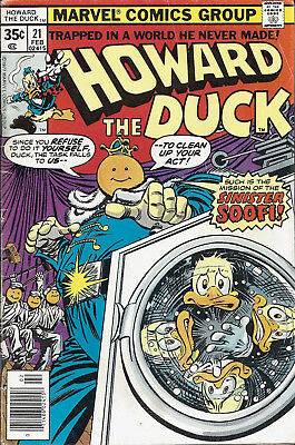 HOWARD THE DUCK #21  Feb 78
