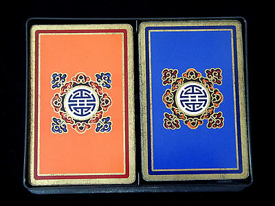 Art Deco Style FOURNIER Twin Deck Gilded Playing Cards