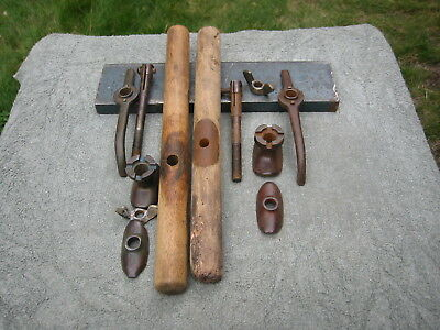 old atkins # 24 crosscut saw handles, handle