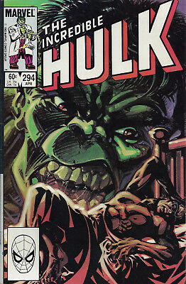 INCREDIBLE HULK #294  Apr 1984