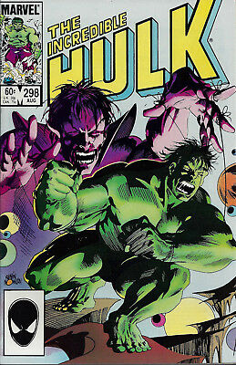 INCREDIBLE HULK #298  Aug 1984