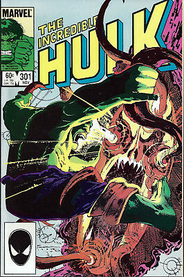 INCREDIBLE HULK #301  Nov 1984
