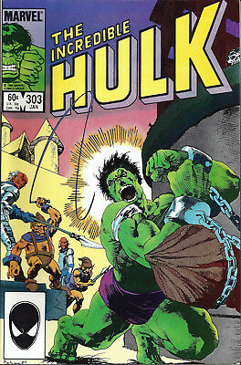 INCREDIBLE HULK #303  Jan 1985