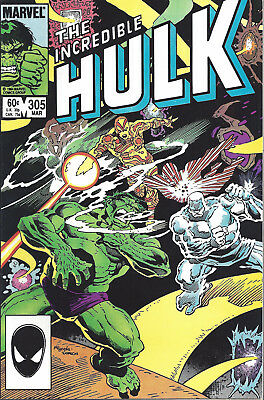 INCREDIBLE HULK #305  Mar 1985
