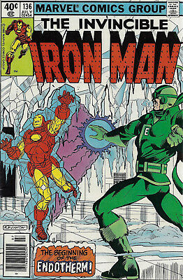 IRON MAN #136  Jul 1980