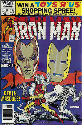 IRON MAN #139  Oct 1980