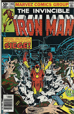 IRON MAN #148  Jul 1981