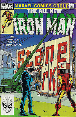 IRON MAN #173  Aug 1983