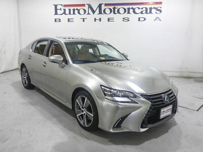 2016 Lexus GS 4dr Sedan Hybrid 4dr Sedan Hybrid lexus gs 450 h one owner awd 4wd hybrid luxury f-sport f sport