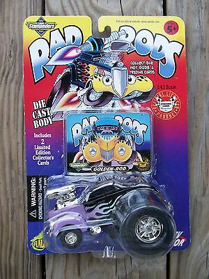 1999 Stampeders Hot Street Rat Rad Rods Fat Fendered Ford Coupe Black Flame