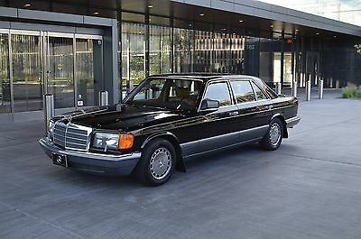 1989 Mercedes-Benz S-Class 420 SEL Fantastic presenting 420 SEL in very clean, well above average condition.