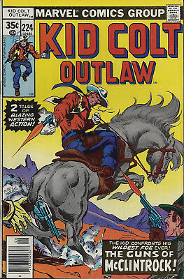 KID COLT OUTLAW #224  Jun 1978  R:KCO #137