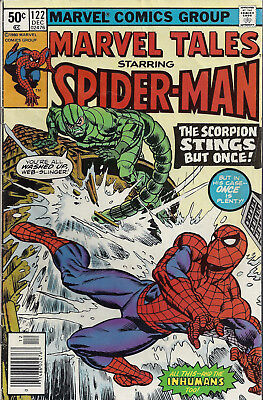 MARVEL TALES #122  Dec 80